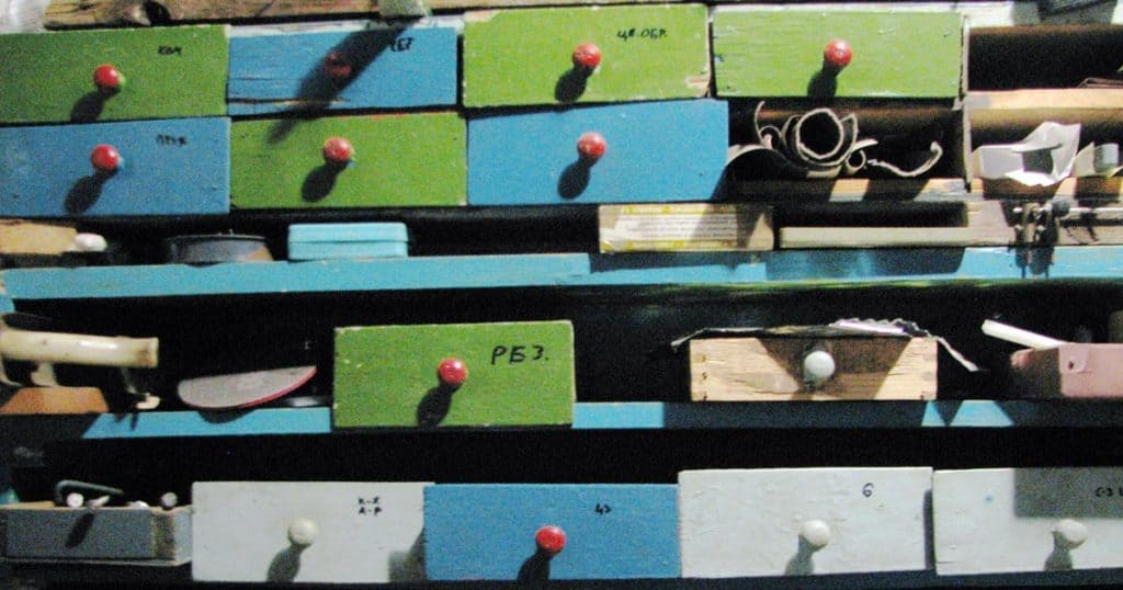 Drawers Organized